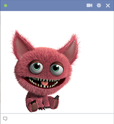 Cute creature for Facebook