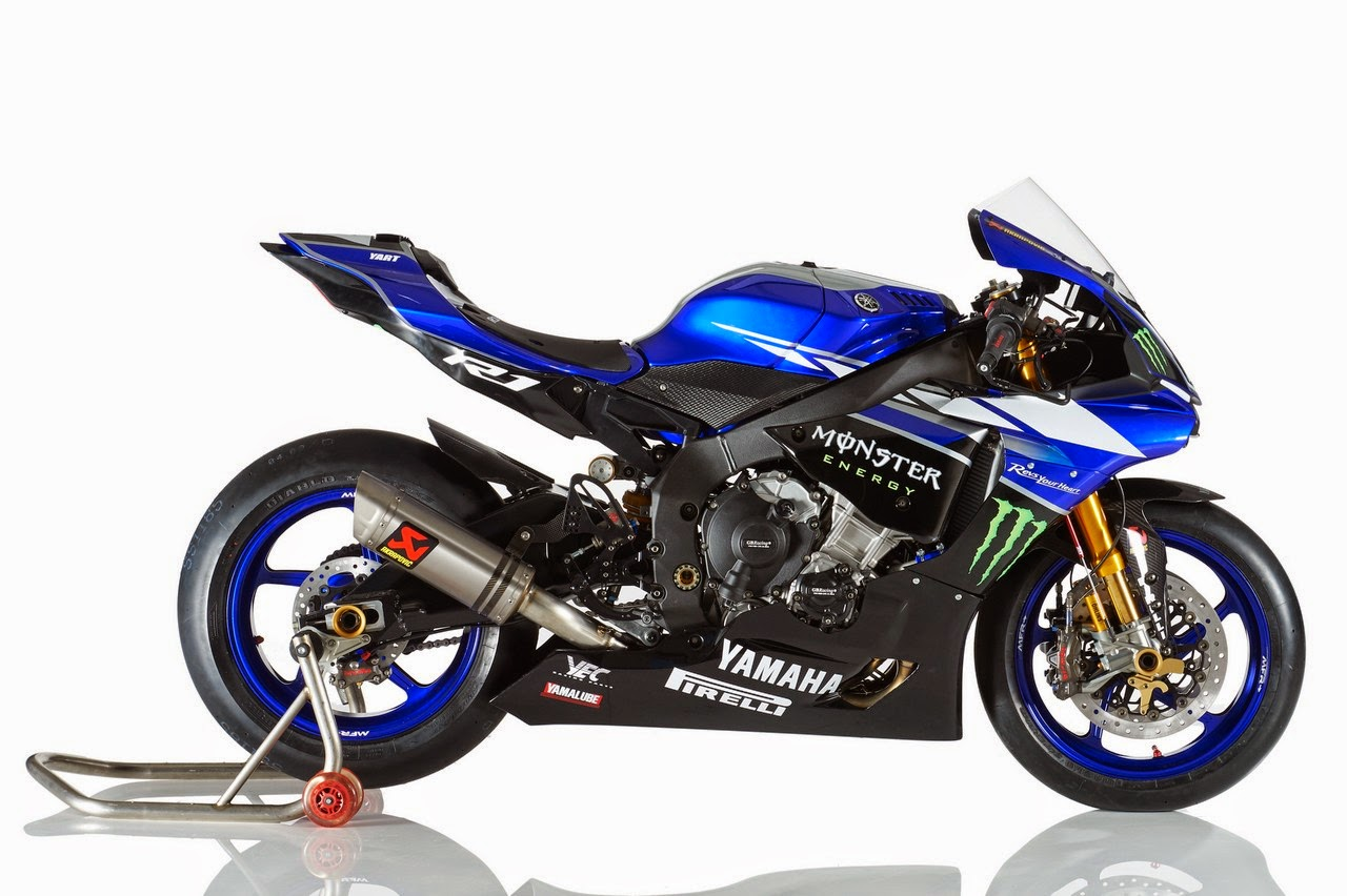 racing caf yamaha yzf r1 team yart 2015. Black Bedroom Furniture Sets. Home Design Ideas