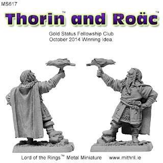 Thorin and Roac | Mithril Miniatures metal figure.
