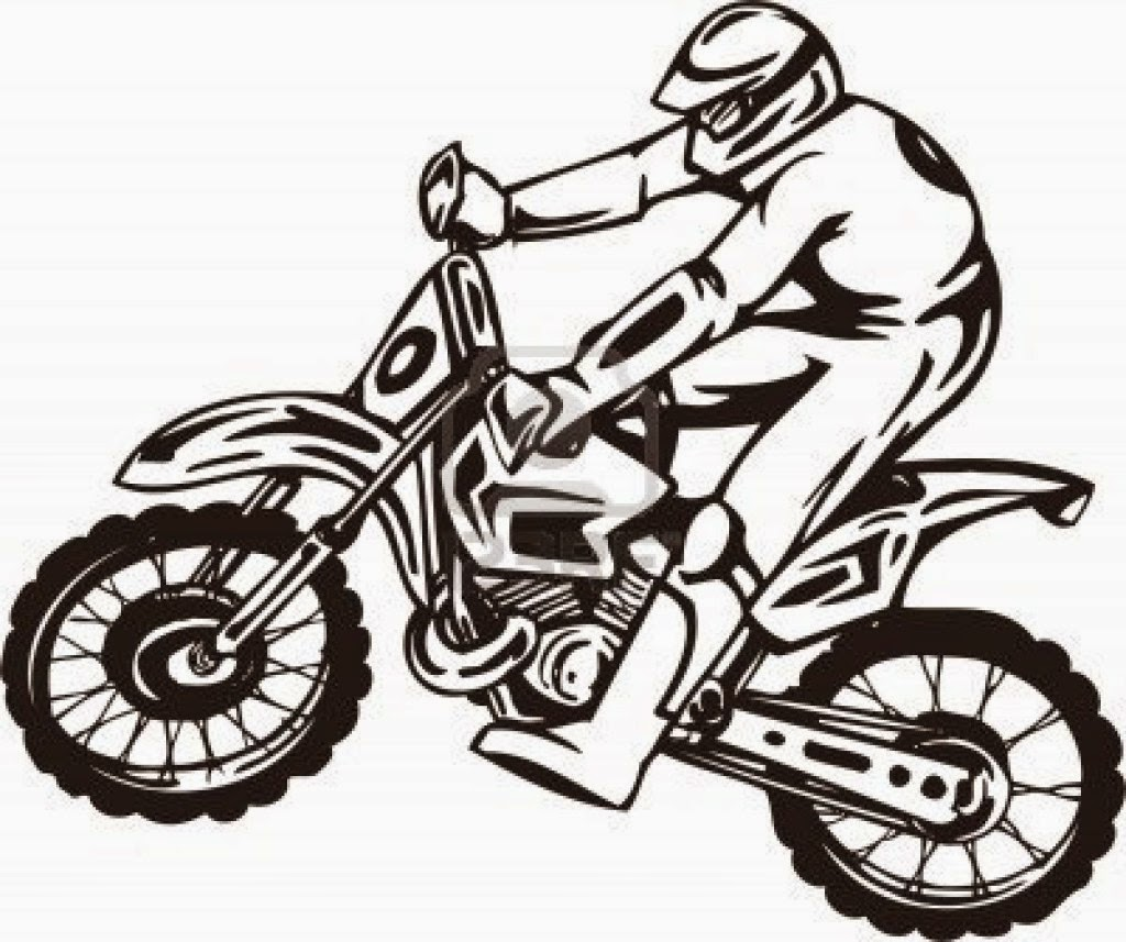 Motorcycle Coloring Pages Coloringfilminspector