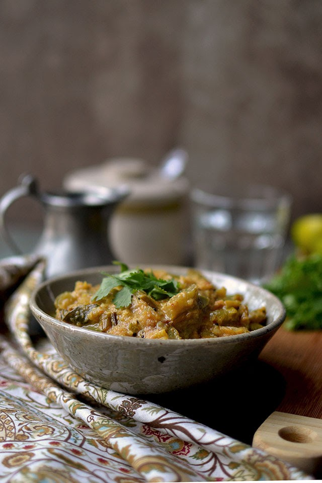 Mysore style Masala Curry