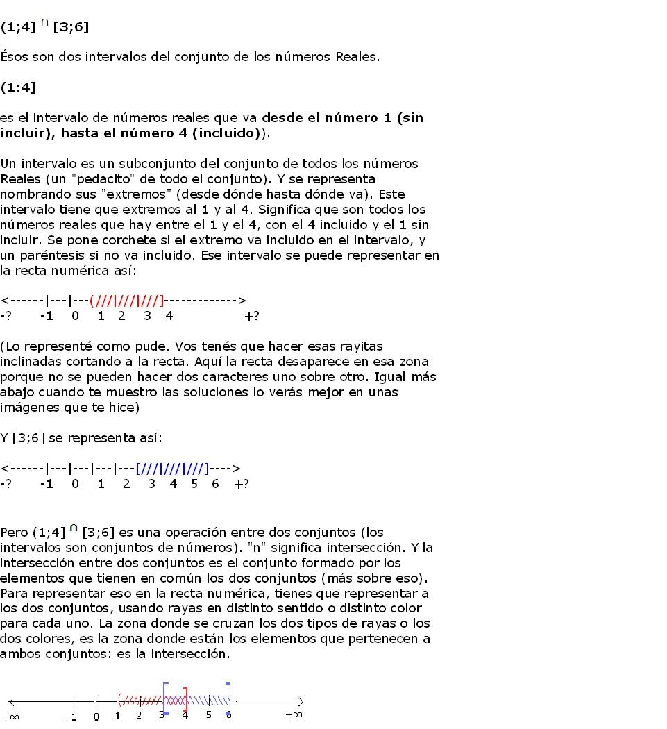 Contacto Matematica: Resumen Teórico de intervalos parte 1