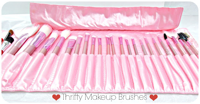synthetic   by vs Makeup Synthetic   natural Brushes makeup Lucky Belleza  Thrifty vs. 101: brushes Natural