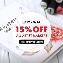 15% OFF Markers