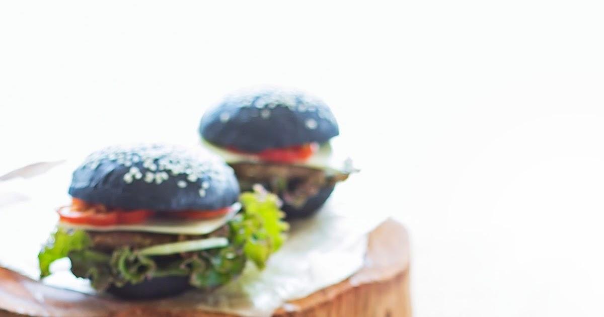 hesti s kitchen yummy for your tummy burger hitam