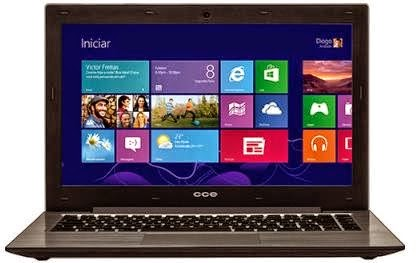 Notebook Ultrafino CCE S345 com Intel Core i3