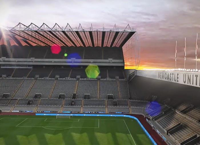 Exterior dos estádios de FIFA 15 em modelos 3D