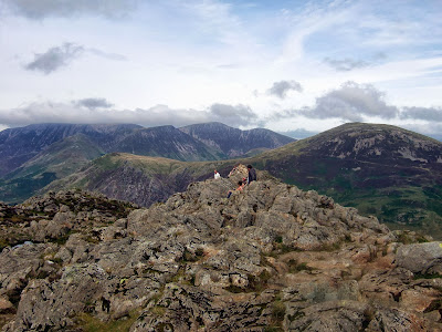Summit ridge of Haystacks