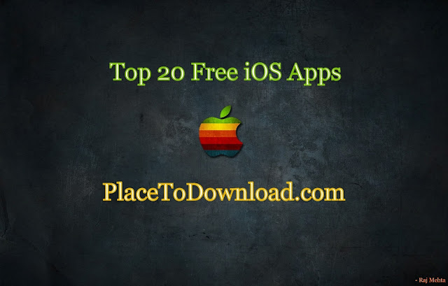 Top 20 Free iOS Apps PTD