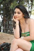 Ankita Sharma Hot photo shoto in Green-thumbnail-16
