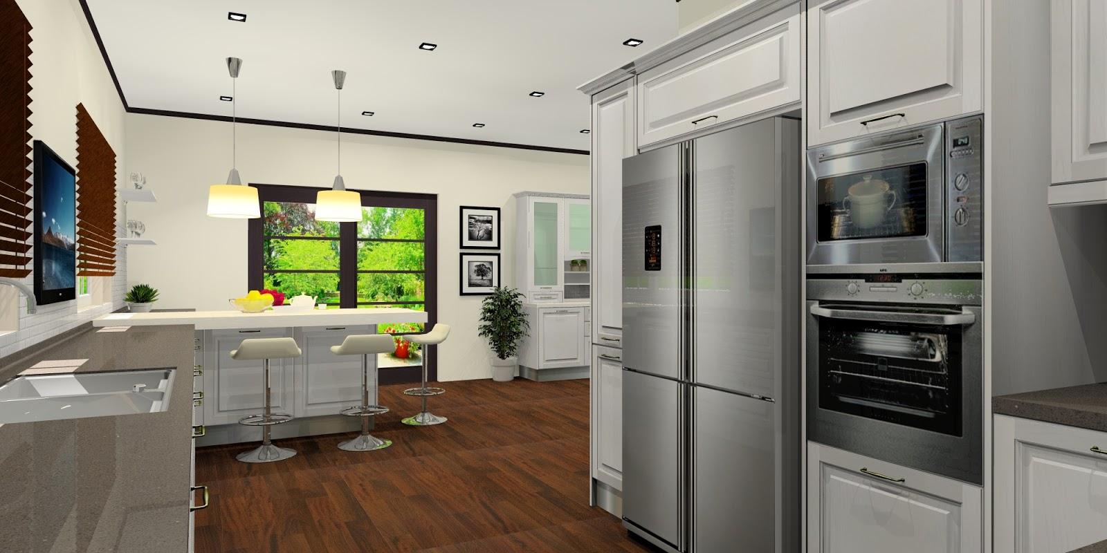 And Kitchen Design In Kuala Lumpur Selangor Malaysia White Country