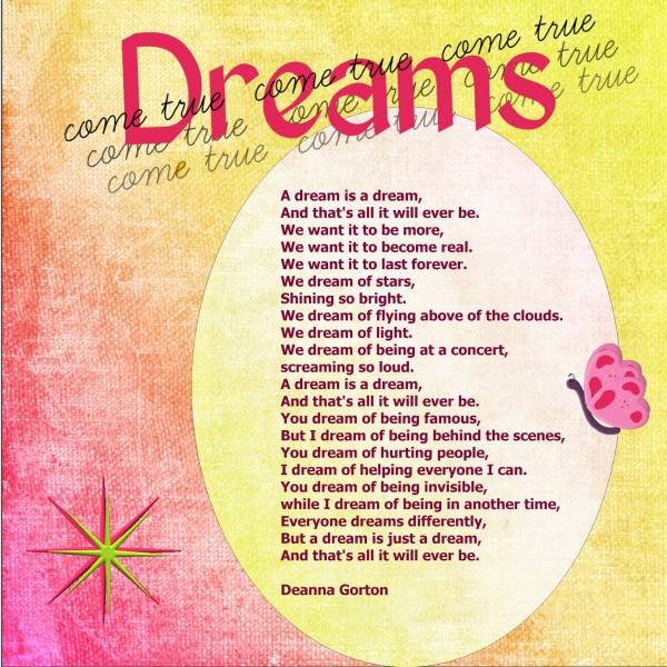 July 2016 A Dream Is A Dream