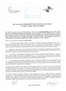 SR. PRESIDENTE DO CONCELLO DE VIGO D. ABEL CABALLERO - ENTREGA DITAME XURÍDICO  (ANO 2007)