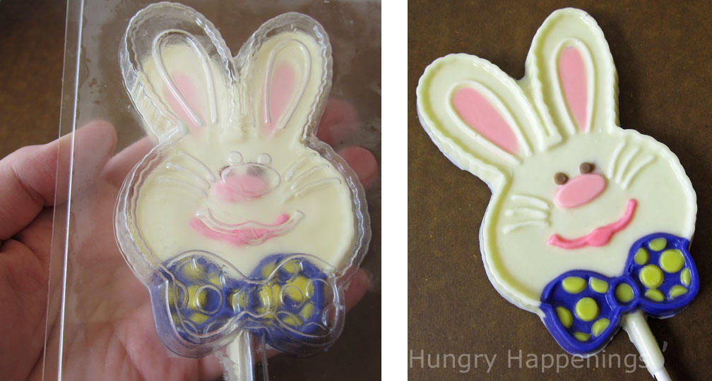 Hand painted chocolate easter pops hungry happenings i dont know about you but when i was little my favorite memories negle Images