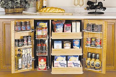 Desain Rak dapur kitchen set