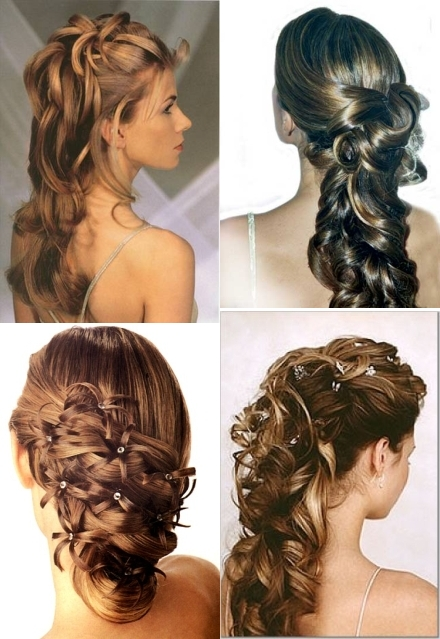 Novia moderna y mas peinados de novia 2011 - Peinados modernos para boda ...