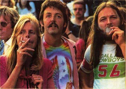 Linda, Paul and David