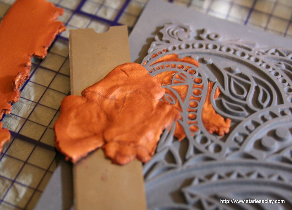 Starless Clay Sutton Slice Leaf Ornament Tutorial