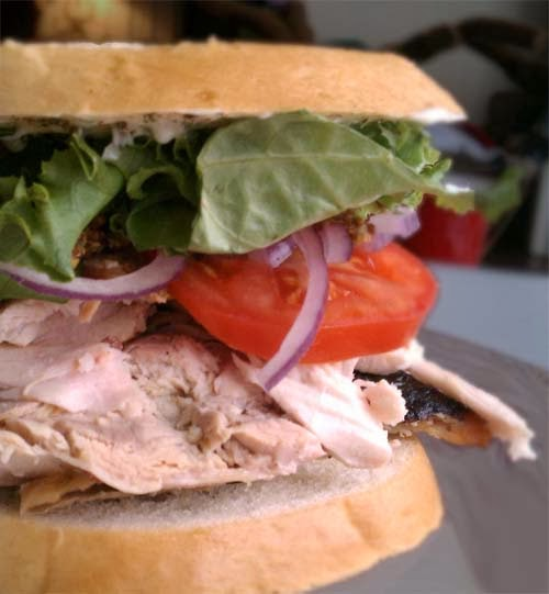 What To Do With #Thanksgiving_Leftovers?  Turkey Sandwich!!!  Click For More Ideas
