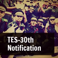 TES-30th Notification