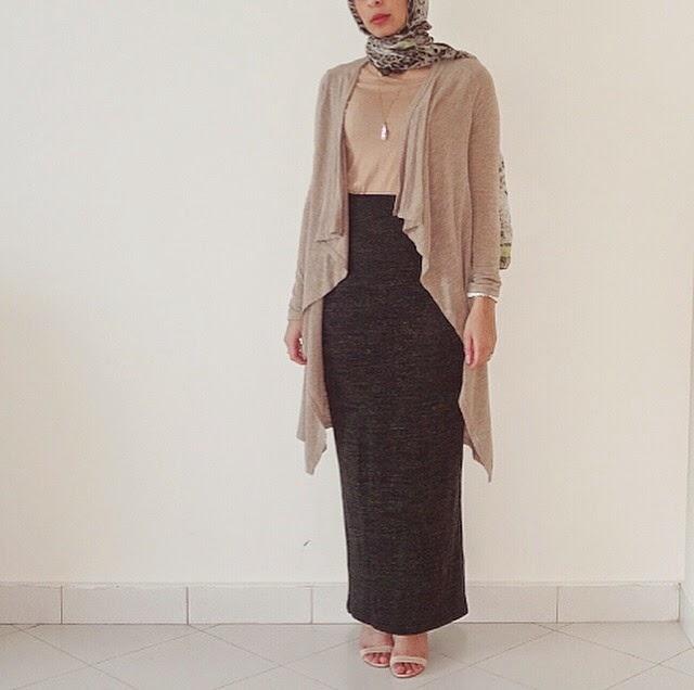 Hijab Fashion Inspiration For Styling A Skirt Muslimah