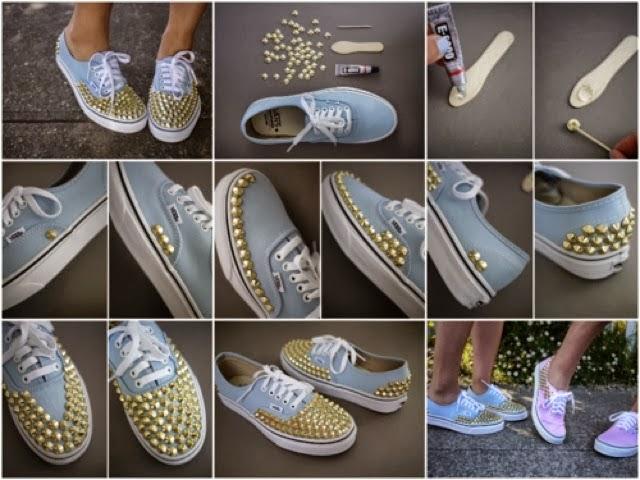 Rinnovare vecchie scarpe la casa delle idee - Fai da te casa idee ...