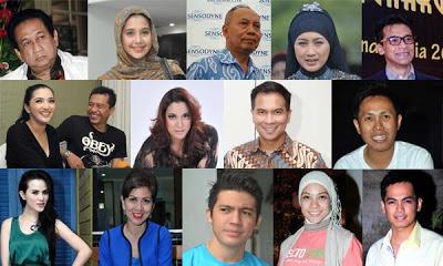 Inilah Nama-nama Artis yang Menjadi Bakal Caleg untuk Pemilu 2014