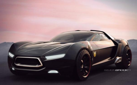 the actor tom hardy playing max rockatansky gets to drive this awesome concept car we are not jealous at all