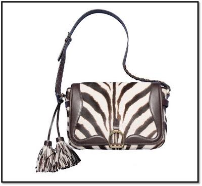 Zebra Square : sac Ralph Lauren bandoulière zebré Vogue