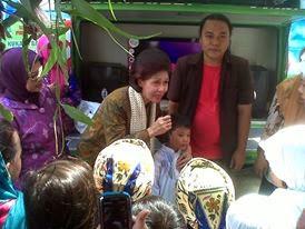 Dongeng di hadiri Ibu Gubernur DKI Jakarta