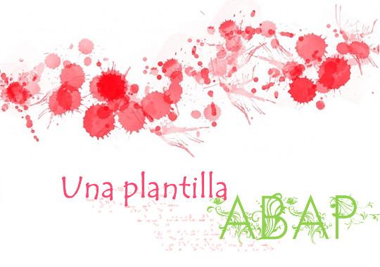 Imagen plantilla ABAP