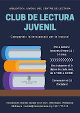 Apunta't al Club de Lectura Juvenil!