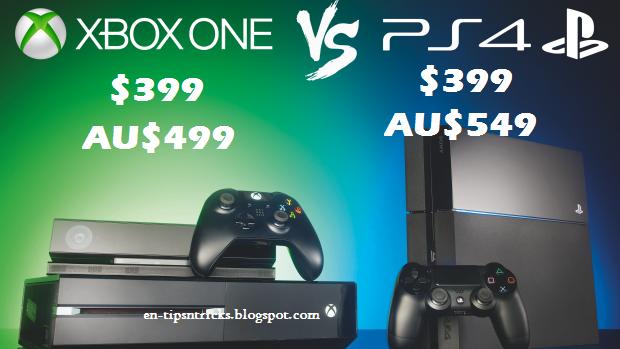 Xbox One versus PS4 price