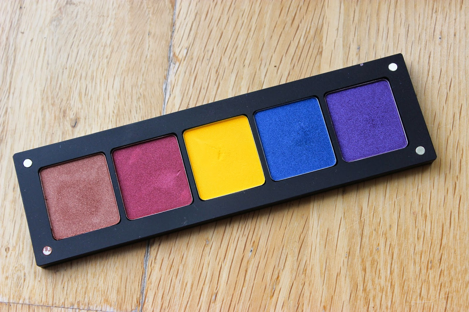 Inglot Eyeshadow Swatches Freedom System Discoveries Of Self Blog NC50 UK Beauty Blogger