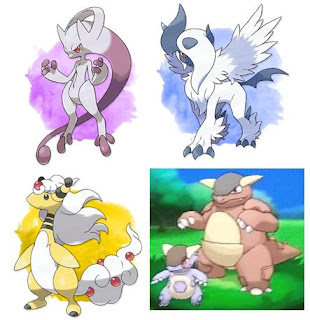 Mega Pokemon in Trademark