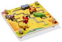 Le jeu du Labyrinthe des animaux Oxybul