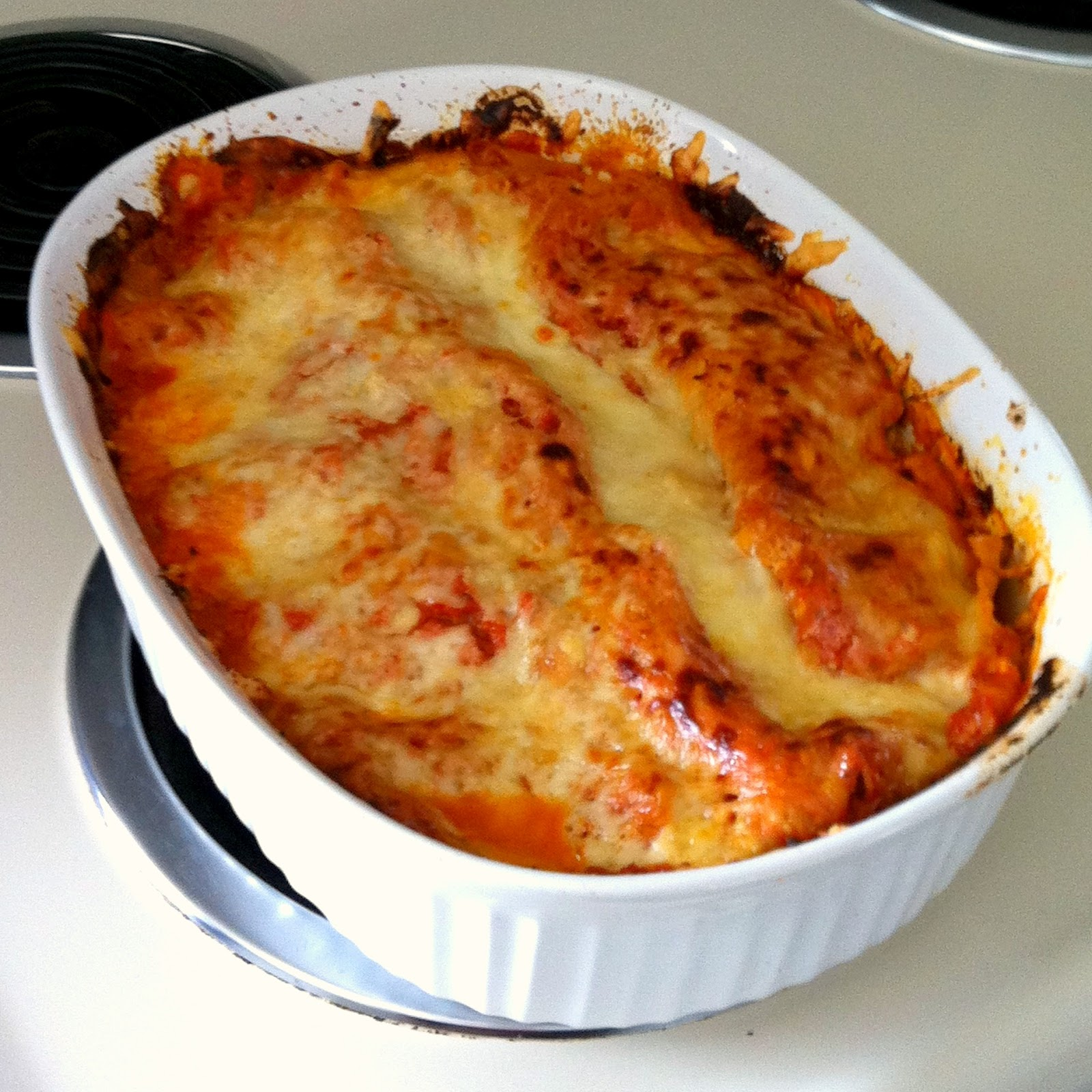 It's Our Pinteresting Life : Broccoli & Three Cheese Lasagna