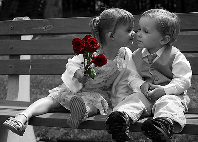 baby couple kissing high resolution hd wallpapers free download 1080p ~ Fine HD Wallpapers ...