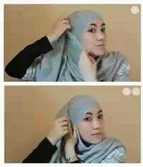 White Scarf Red Shoes: Hijab Tutorial By Hana Tajima