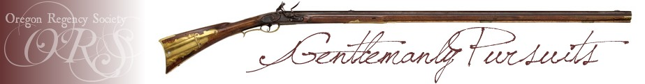 Gentlemanly Pursuits ~ Oregon Regency Society