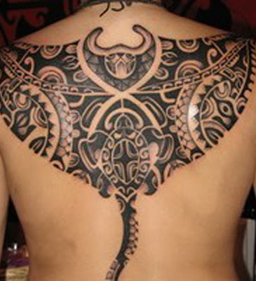 5 amazing lower back polynesian tattoo for mens ideas for Tattoo above vagina