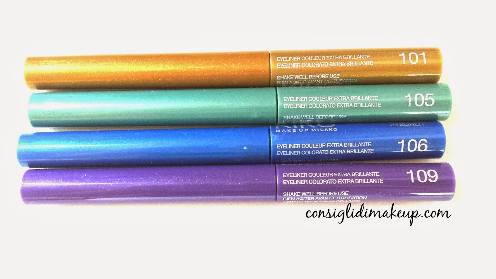 kiko eyeliner waterproof super colour review