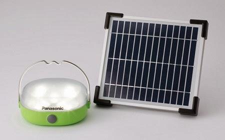 Lamparas Solares, Proyecto Lanzado por Panasonic