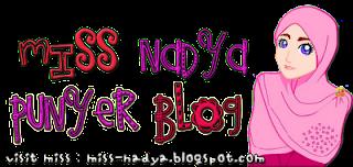 Segmen Miss Nadya :: Motif Kenal Blogger Lain