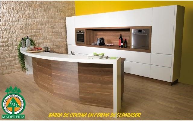Productos maderables de cuale diciembre 2014 for Barra cocina madera