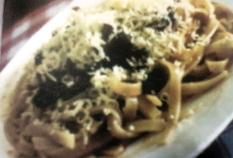 Spagheti Jamur Keju