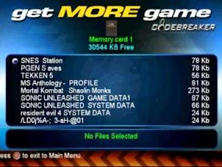 Codebreaker Ps2 Iso Ntsc Mega Juegos Para PlayStation 2