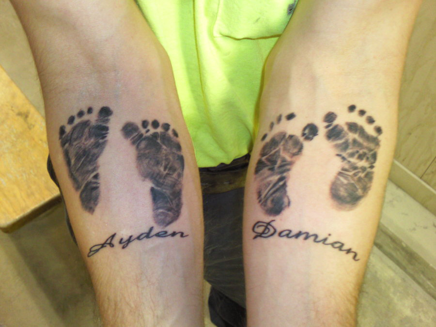 Footprint Tattoos