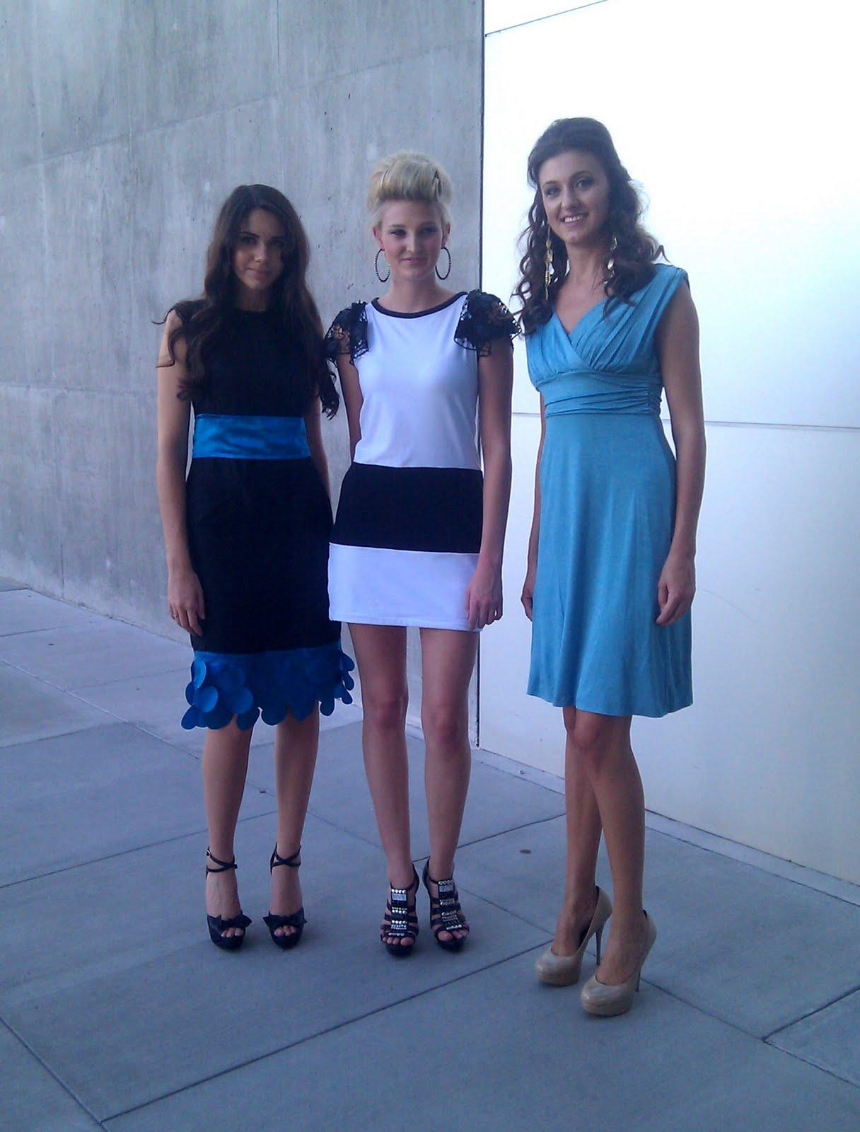 model-trio
