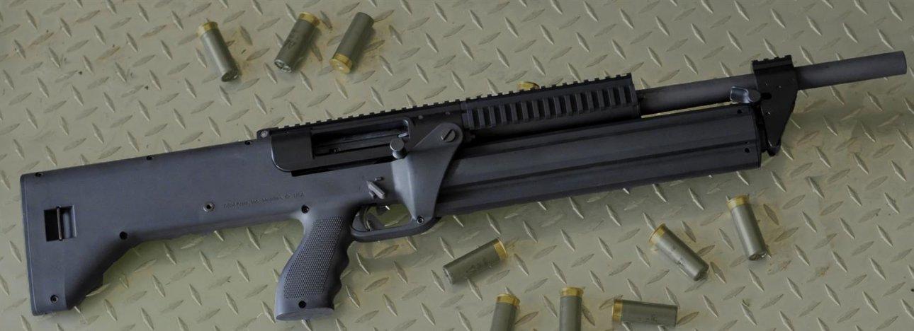 The Miller: SRM Model 1216 Combat Shotgun